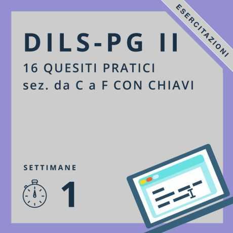 Esercitazioni Dils-PG II on-line