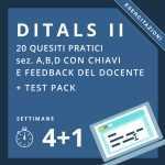 esercitazioni e simulazioni ditals II online