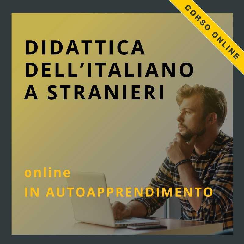 corso on-line di didattica dell'italiano a stranieri in autoapprendimento