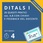 Esercitazioni Ditals I online GOLD