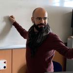 Il Prof. Igor Deiana, docente di italiano a stranieri su A023