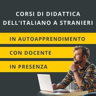 corsi online di didattica dell'italiano a stranieri