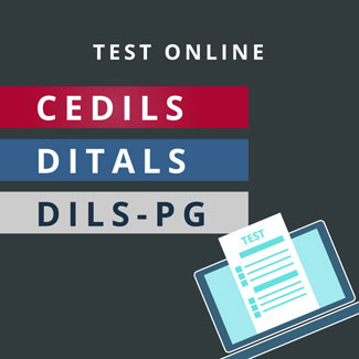 simulazioni cedils e ditals online. Insegnare italiano a stranieri con Cedils, Ditals e Dils-PG. Italiano L2