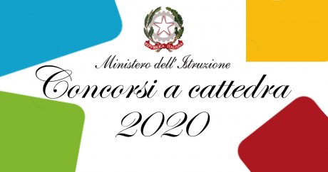 I bandi dei concorsi a cattedra ordinario e straordinario 2020