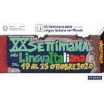 Settimana della lingua italiana nel mondo 19-25 ottobre 2020