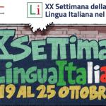 XX Settimana della lingua italiana nel mondo 19-25 ottobre 2020