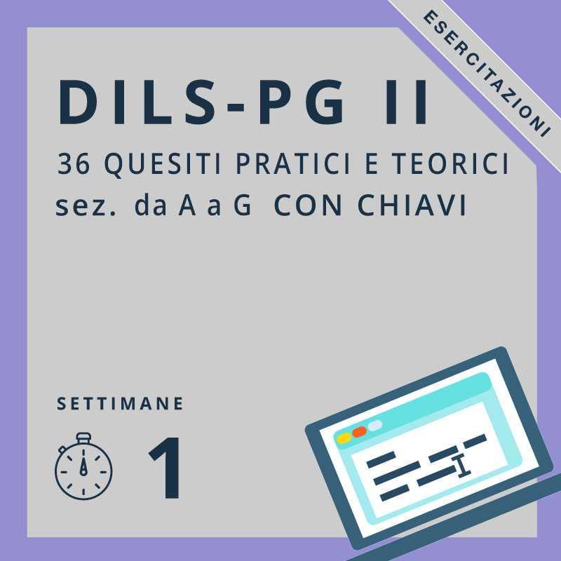 simulazioni dils-pg II
