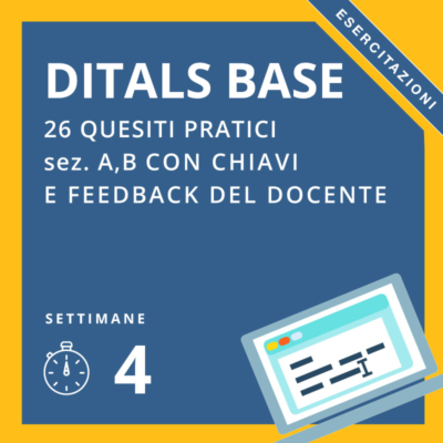 Simulazioni on-line Ditals BASE