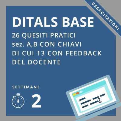 simulazioni online esame ditals BASE