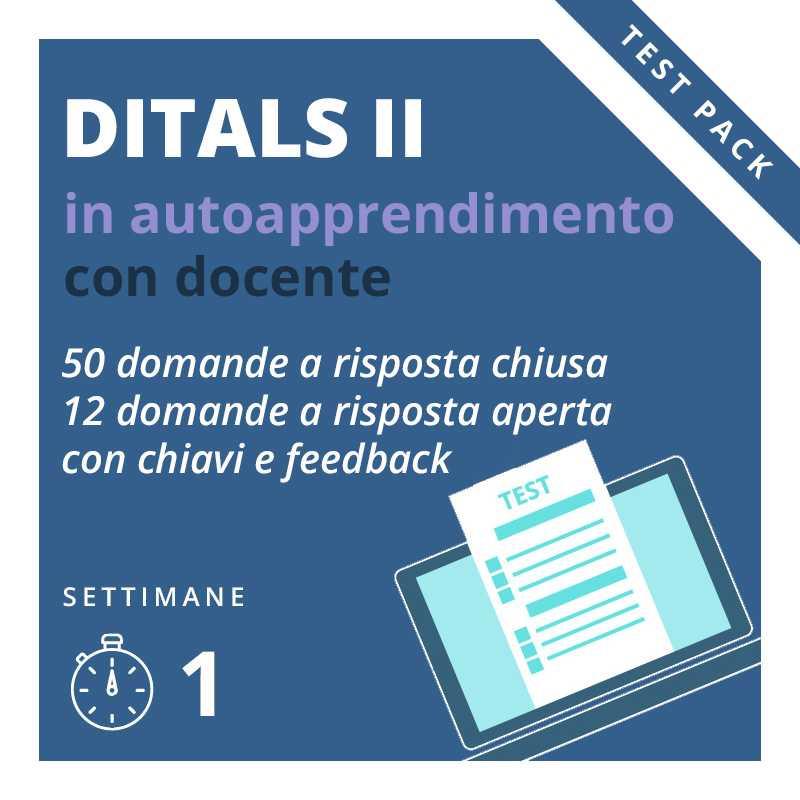 Test online Ditals II