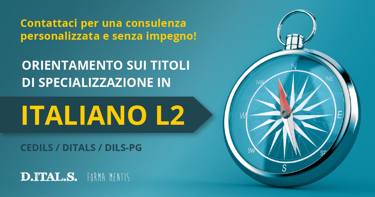 orientamento sui titoli di specializzazione in italiano L2