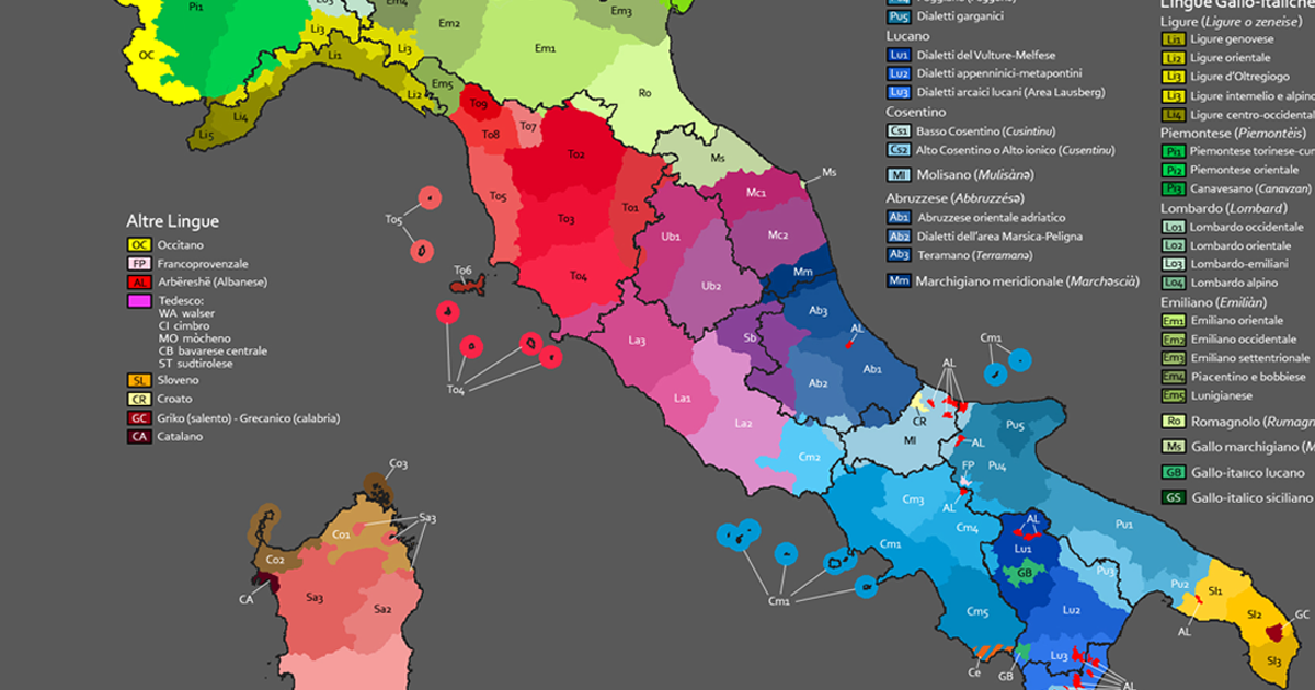 Le varietà diatopiche nell'insegnamento dell'italiano L2